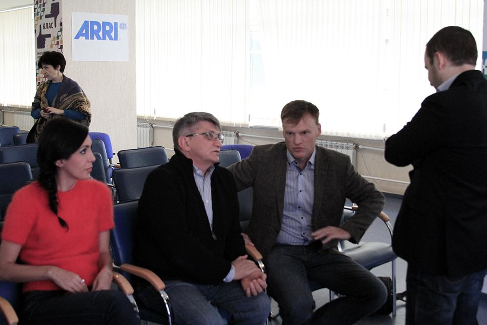 Е. Мцитуридзе, А. Сокуров, А. Адаричев, Т. Мусаев
